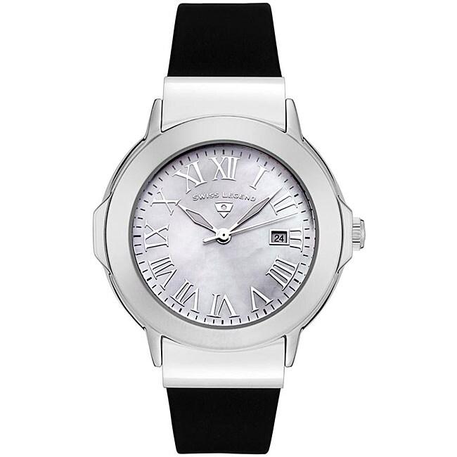 Swiss Legend Women's South Beach Black Strap Watch