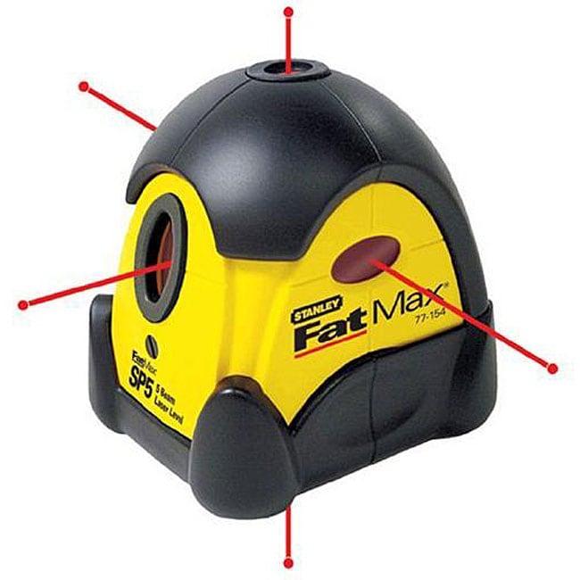 Stanley 77-154 SP5 FatMax Five Beam Laser Level Kit