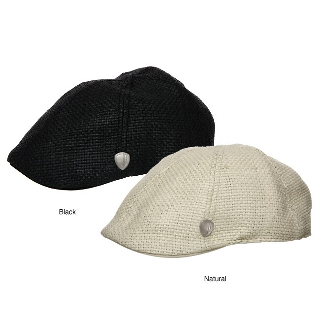 6f8d7f777eeca Shop Ben Sherman Men s Straw Driving Cap - Free Shipping On Orders Over  45  - Overstock - 4835110