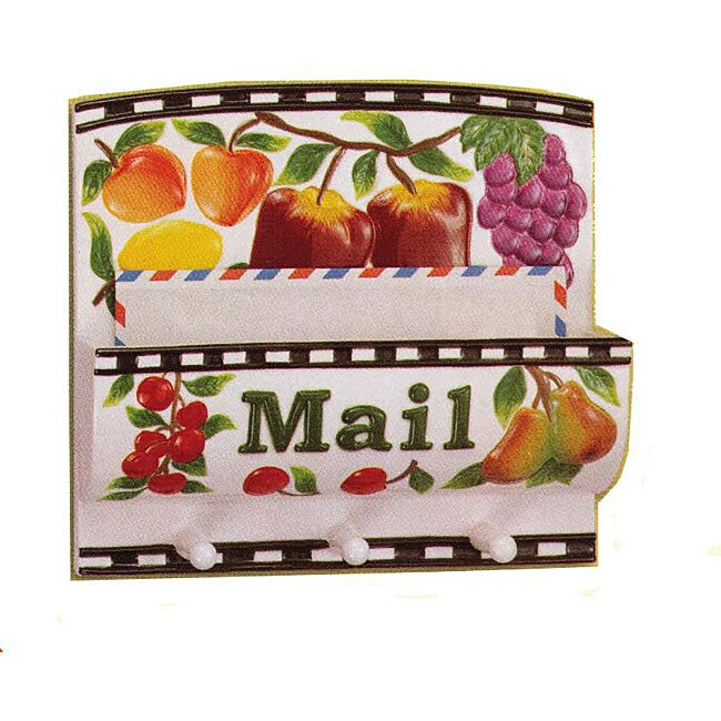 Fruit Products Mail: Shop Fruit Delight Hand-painted Ceramic Wall-mount Key And