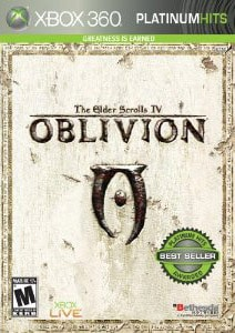 Xbox 360 - Oblivion Platinum Hits