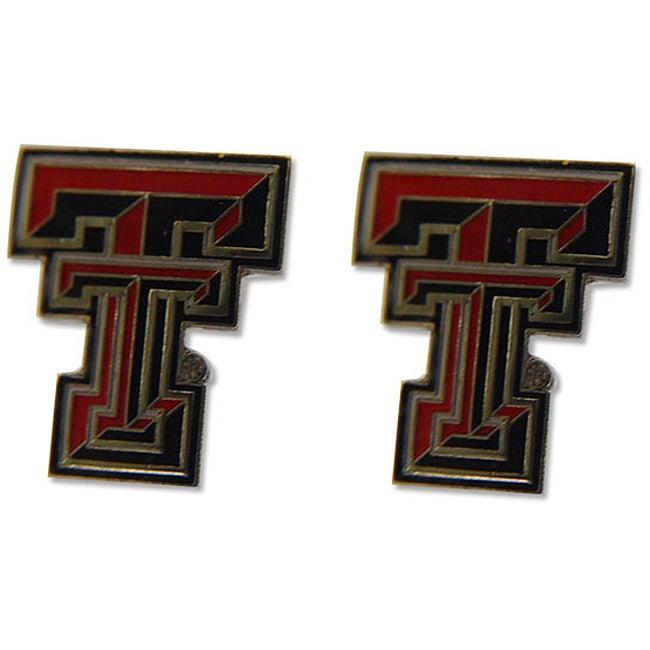 Texas Tech Raiders Post Stud Logo Earrings
