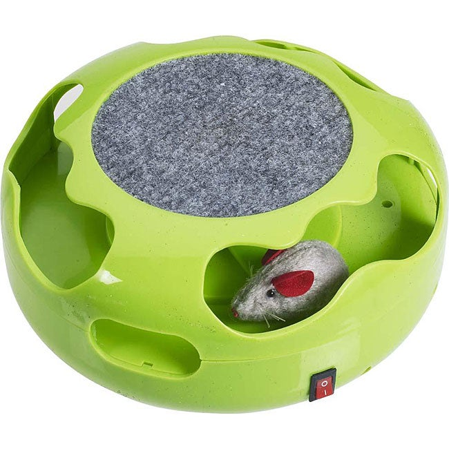 Automated Cat Toys : Mouse chase electronic cat toy free shipping on orders