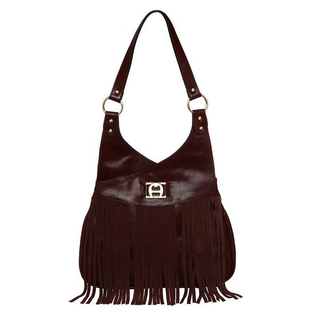 Shop Etienne Aigner Vintage  Redux 70 s  Shoulder Bag with Fringe - Free  Shipping Today - Overstock - 4844342 51b78b1281bf8