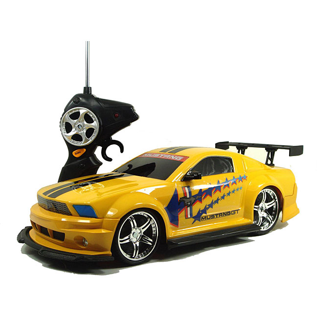 Shop Ford  Mustang Gt Remote Control Car Free Shipping Today Overstock Com