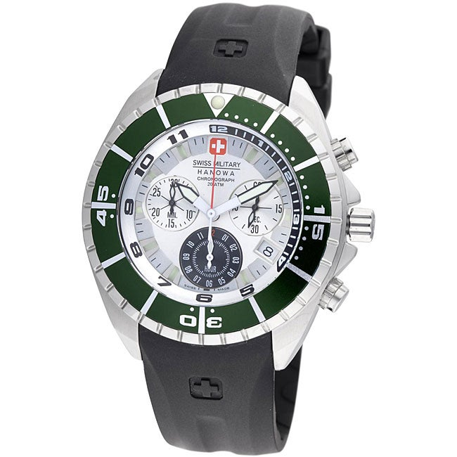 Swiss Military Men's 'Hanowa' Chronograph Sealander Divers