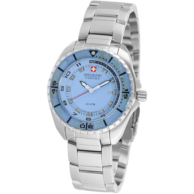 Swiss Military Hanowa Women's Light Blue Sealander Diver's