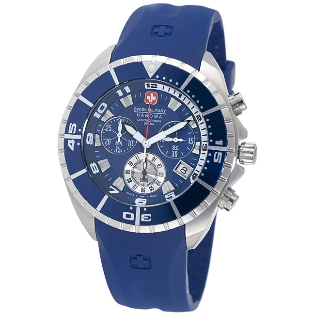 Swiss Military Hanowa Men's Chronograph Blue Sealander