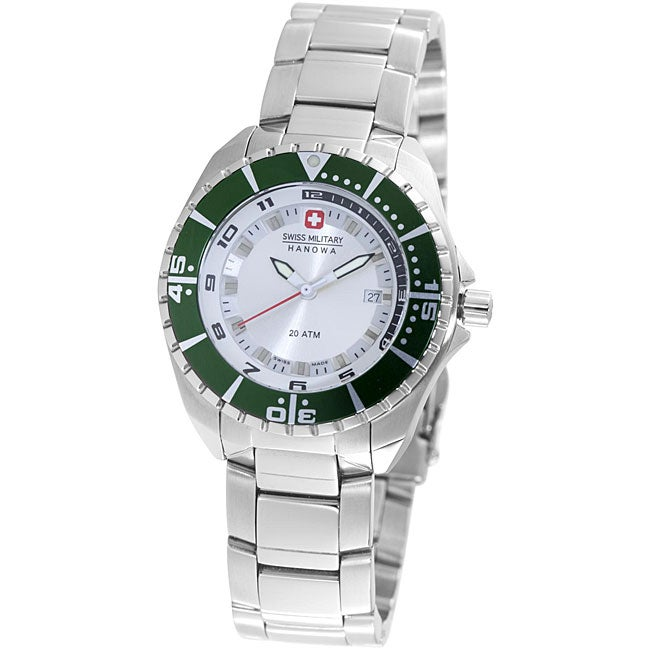 Shop Swiss Military Hanowa Women's 'Sealander' Steel