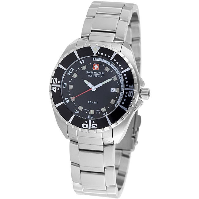 Swiss Military Hanowa Women's 'Sealander' Black Dial