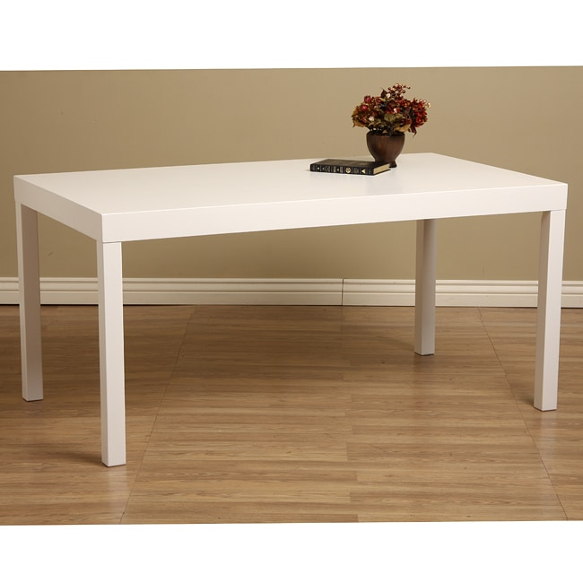 White Wood Dining Table Free Shipping Today Overstock  : L12733079a from www.overstock.com size 650 x 650 jpeg 35kB