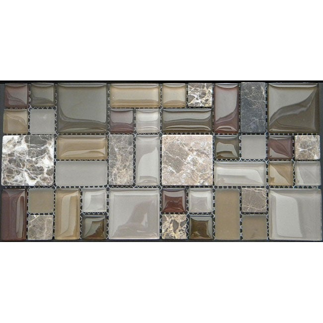 Terra Multi 12-inch Wall Tile Sheets (Pack of 11)