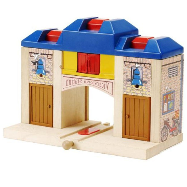 Thomas and Friends Wooden Rails All Aboard Station