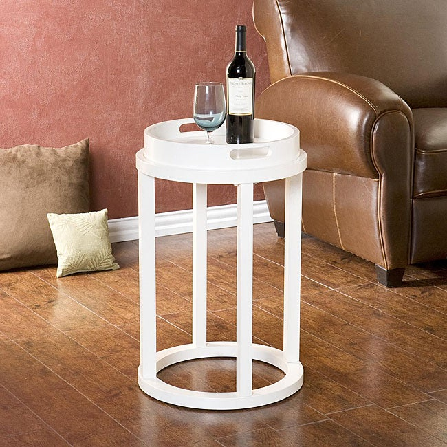 Shop Butler White Accent Table Free Shipping Today