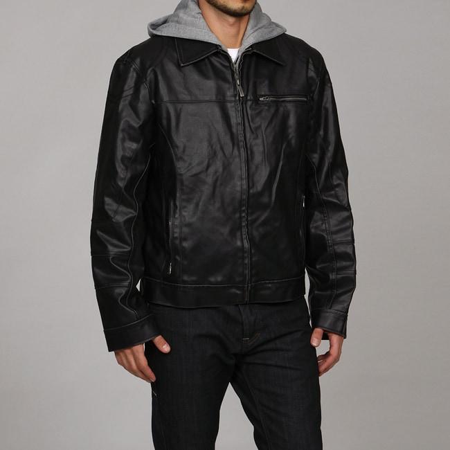 Kenneth Cole Reaction Men's Faux Leather Jacket