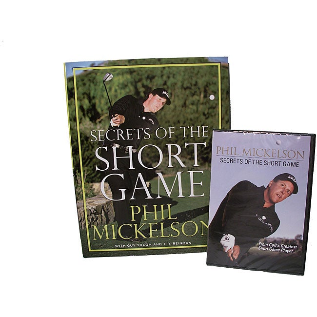 As Seen on TV Phil Mickelson's 'Secrets of the Short Game' DVD and Book Set