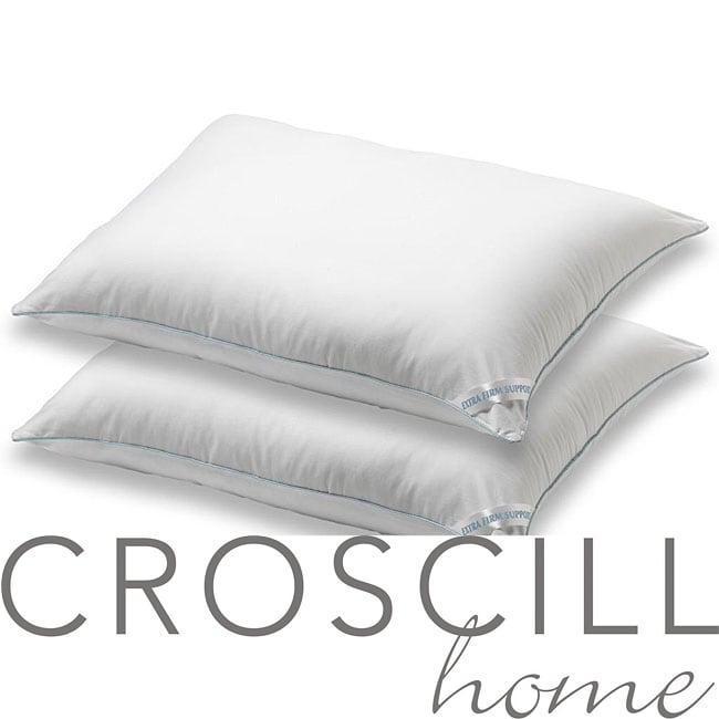 Croscill 400 Thread Count Extra Firm Pillows (Set of 2)
