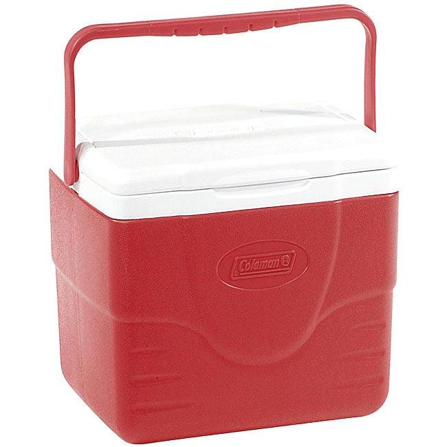 Coleman 9-quart Red Cooler