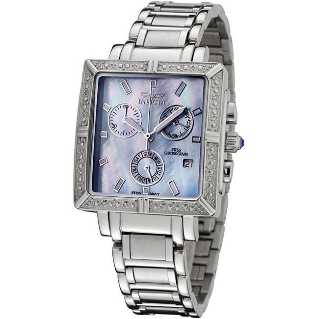 Invicta Women's 'Angel' Diamond Chronograph Watch