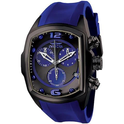 Invicta Men's 'Lupah' Chronograph Royal Blue Watch