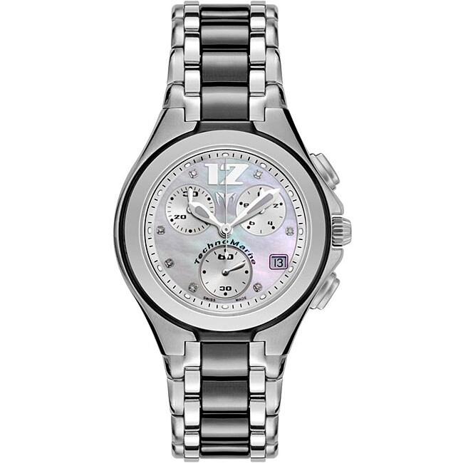 Technomarine Women's 'Neo Classic' Chronograph Diamond Watch
