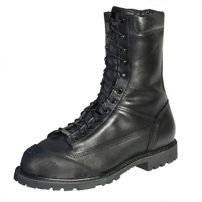 Iron Age Men's 11-inch Black Steel Toe Mining Boots