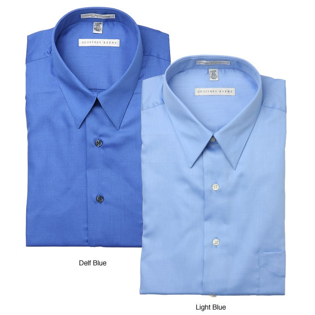 b088d2f70e Shop Geoffrey Beene Men s Sateen Dress Shirt - Free Shipping On Orders Over   45 - Overstock - 4863003