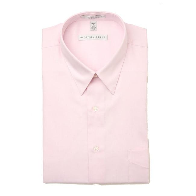8780406df0 Shop Geoffrey Beene Men s Sateen Dress Shirt - Free Shipping On Orders Over   45 - Overstock - 4863004