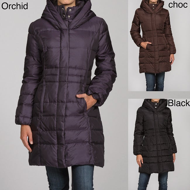 180fba968e379a Shop MICHAEL Michael Kors Women's Down 3/4-length Coat - Free Shipping  Today - Overstock - 4862984