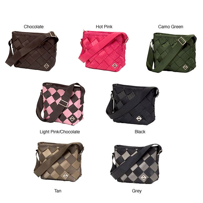 Maggie Bags Recycled Seatbelt Small Messenger Bag