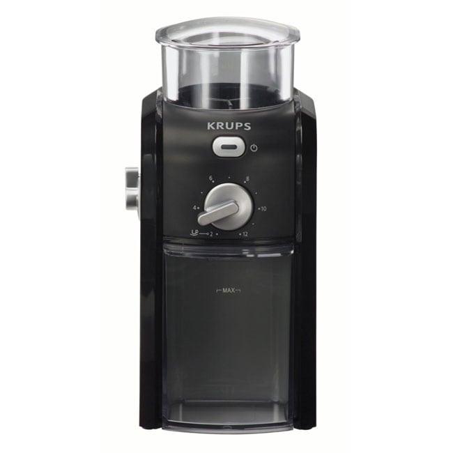 Krups GVX1-14 Black Burr Coffee Grinder