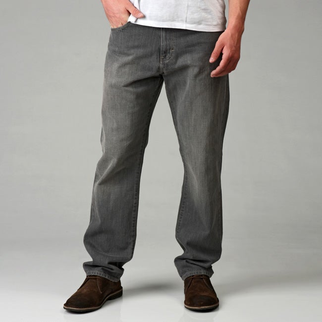 e425c6f9189 Shop Calvin Klein Jeans Men's Relaxed Straight Leg Jeans - Free Shipping On  Orders Over $45 - Overstock - 4871688