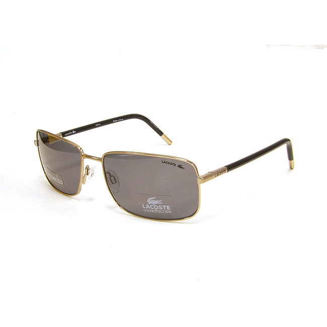 d34a827faaa9 Shop Lacoste LA12446P Unisex Satin Gold Sunglasses - Free Shipping Today -  Overstock - 4874715