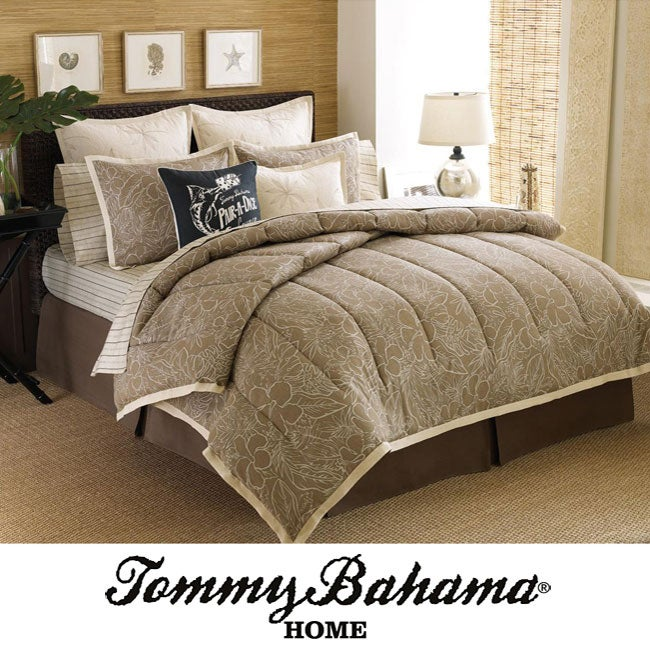 Tommy Bahama Freeport 4-piece Comforter Set