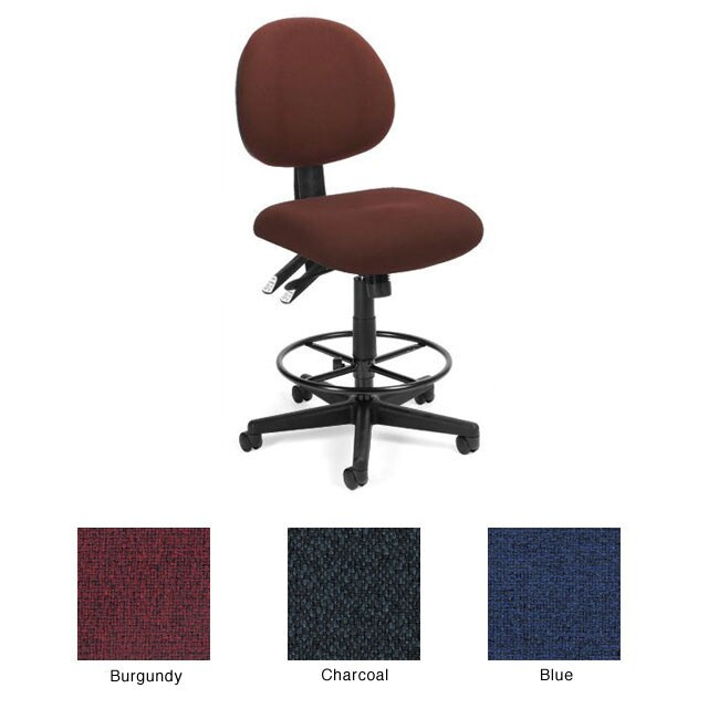 OFM 24-hour Computer Task Chair with Drafting Kit