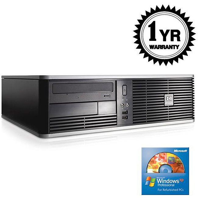 HP DC5750 2.2GHZ 1G 80GB Combo SFF Computer (Refurbished)