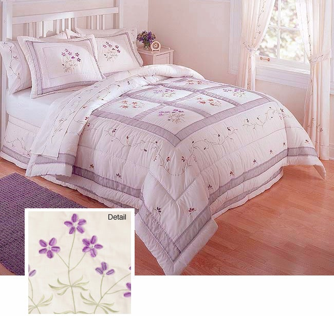 Serenity Luxury Bedding Ensemble with Sheet Set