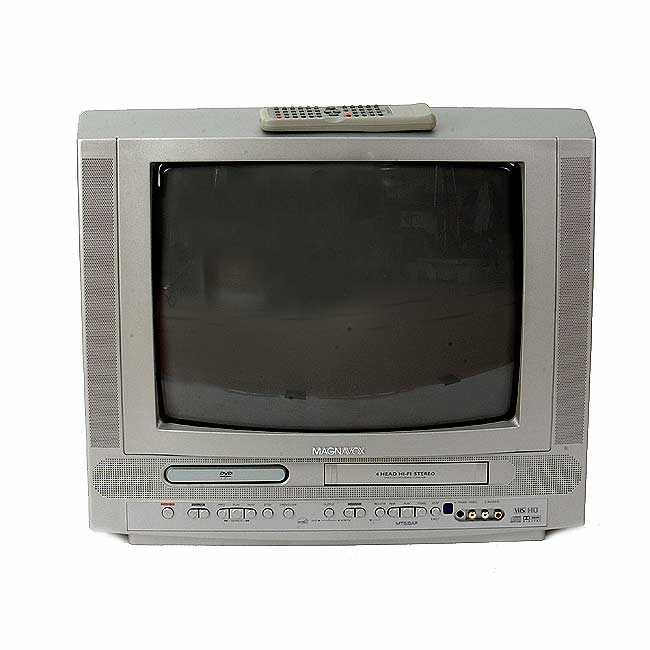 Philips Magnavox 19-in TV/DVD/VCR Combo (Refurbished)