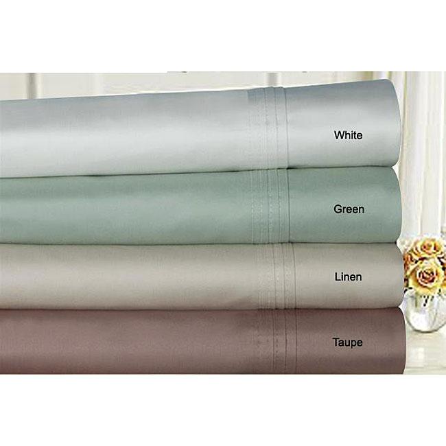 Supima Cotton 600 Thread Count Extra Deep Pocket Sheet Set