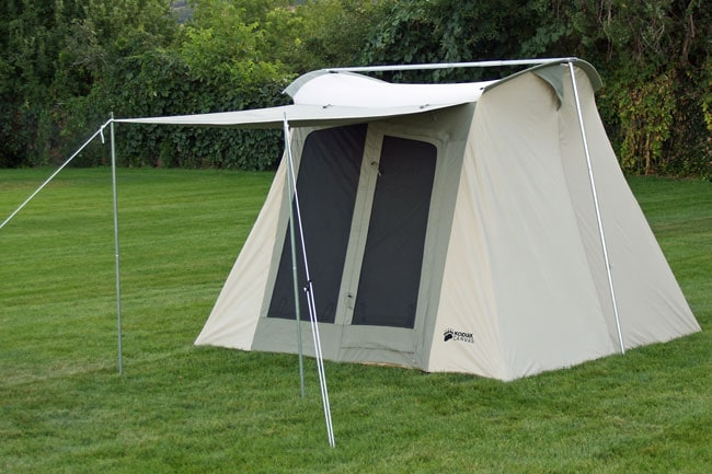Shop Kodiak 4 Person Flex Bow Canvas Tent Free Shipping