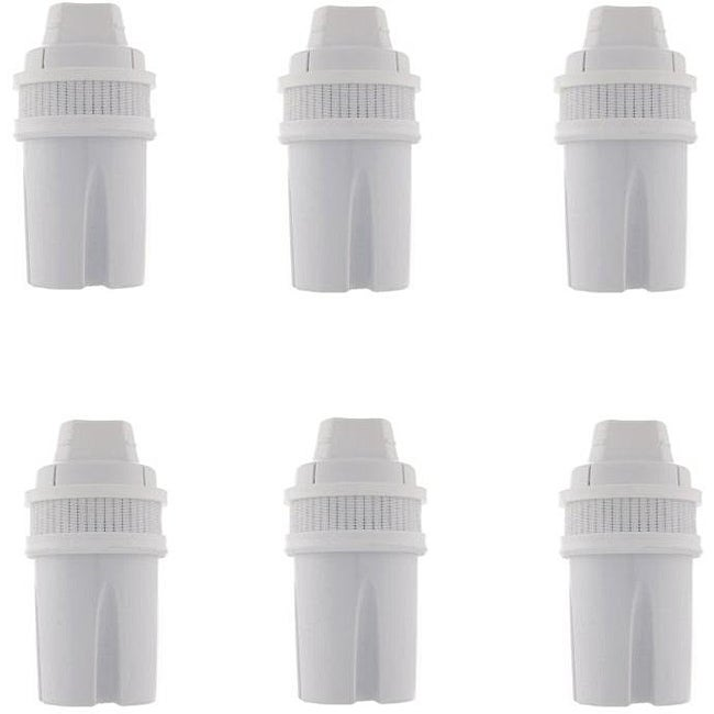 Mavea Universal Filter for Water Filtration Pitchers (Pack of 6)