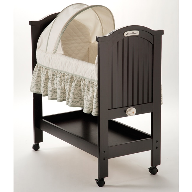 Eddie Bauer Rocking Wood Bassinet Free Shipping Today