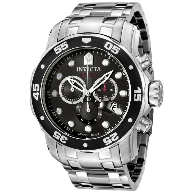 Invicta Men's Pro Diver Chronograph Watch - Thumbnail 0