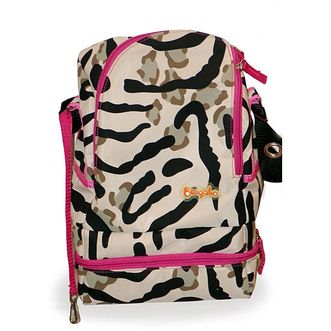 Boogaloo Keep Your Cool Zebra Cooler Bag Free Shipping
