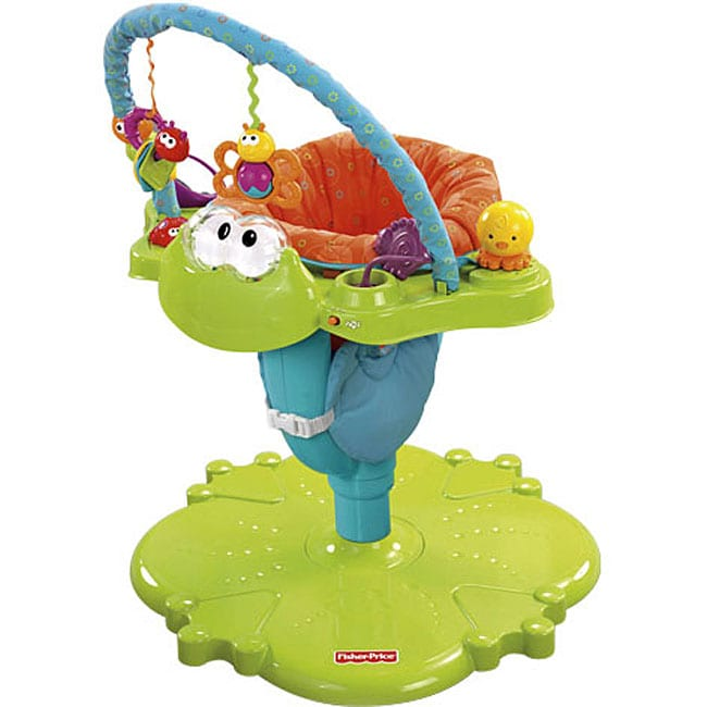 97f6a36a8 Shop Fisher-Price Bounce  n Spin Froggy - Free Shipping Today ...