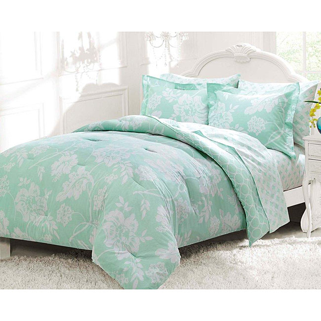 Samantha Twin-size 5-piece Bed in a Bag with Sheet Set