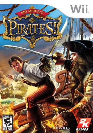 Wii - Sid Meier's Pirates! - By 2K Games