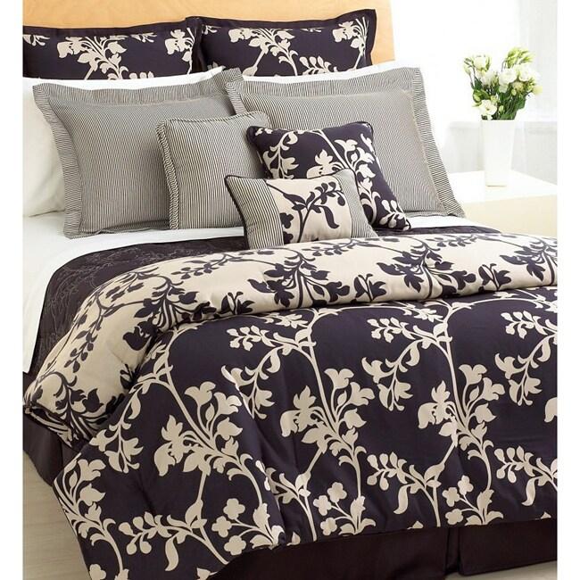 Silver Oak 10-piece Oversize Comforter Set