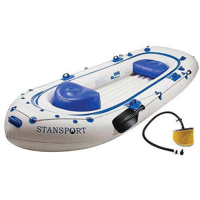Stansport Fisherman's 11.5-foot Boat Set