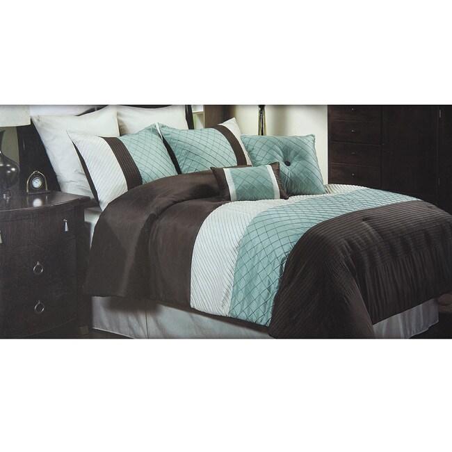 Cameron 6-piece Colorblock Comforter Set